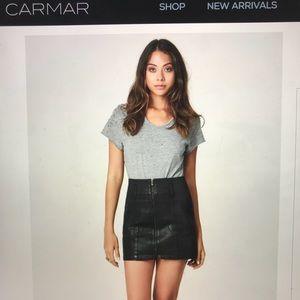 Carmar Zip Up Skirt
